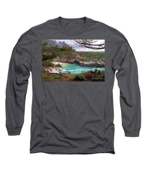 China Cove At Point Lobos Long Sleeve T-Shirt