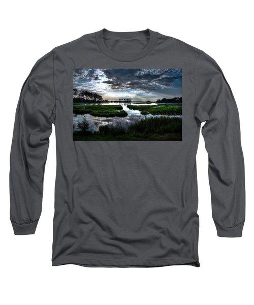 Chincoteague Long Sleeve T-Shirt by Ronda Ryan