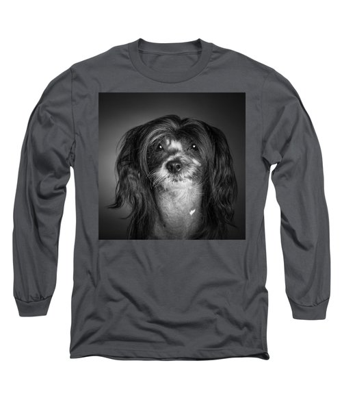 Chinese Crested - 02 Long Sleeve T-Shirt by Larry Carr