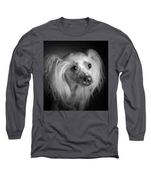 Chinese Crested - 04 Long Sleeve T-Shirt by Larry Carr