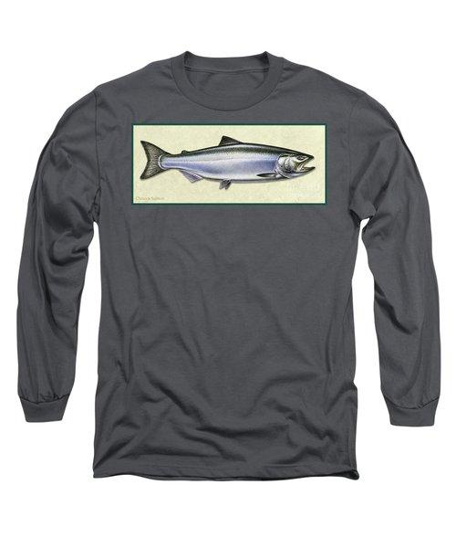 Chinook Salmon Id Long Sleeve T-Shirt