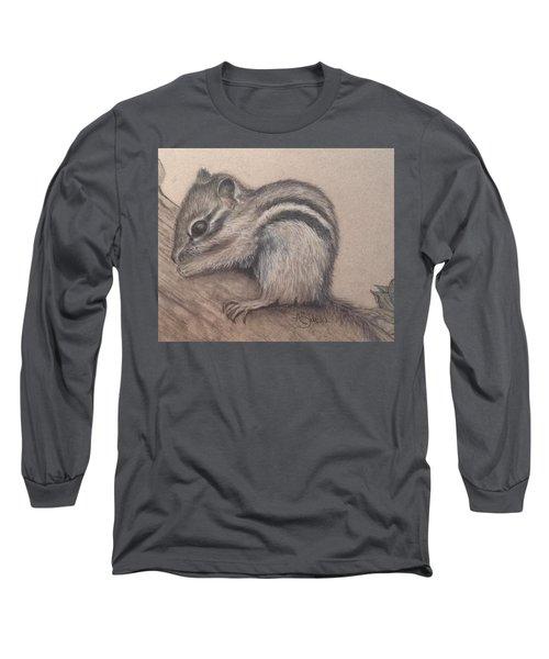 Chipmunk, Tn Wildlife Series Long Sleeve T-Shirt