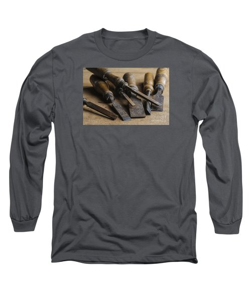 Long Sleeve T-Shirt featuring the photograph Chisels by Trevor Chriss