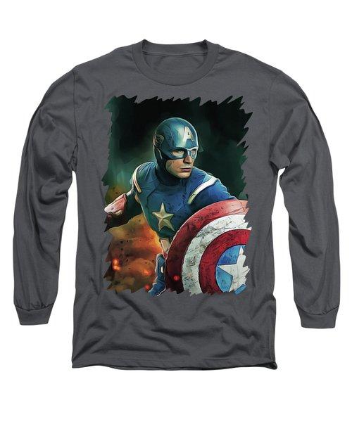 Chris Evans Long Sleeve T-Shirt