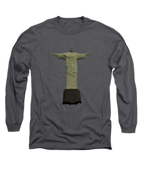 Christ The Redeemer Brazil Long Sleeve T-Shirt