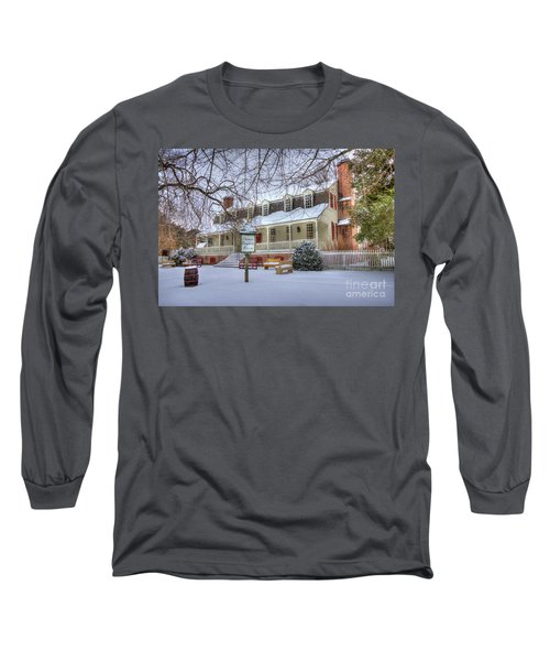 Christina Campbell Tavern Colonial Williamsburg Long Sleeve T-Shirt