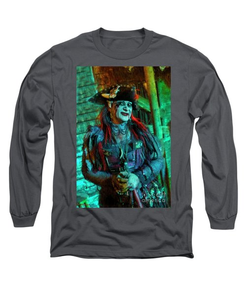 Christine Campiotti And Hunted House Long Sleeve T-Shirt