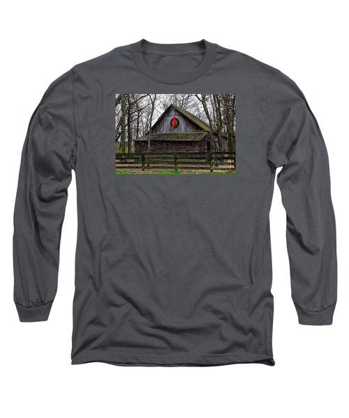 Christmas Barn Long Sleeve T-Shirt