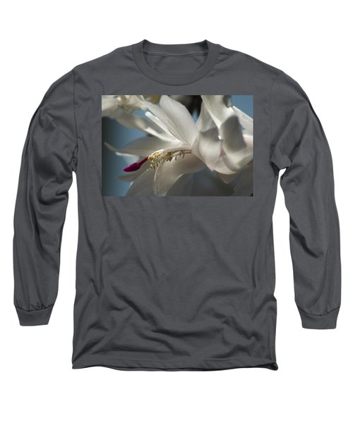 Christmas Cactus Blossom Long Sleeve T-Shirt