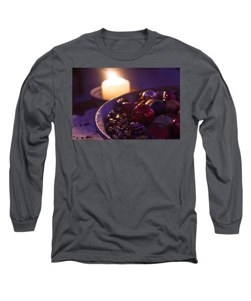 Christmas Candlelight Long Sleeve T-Shirt