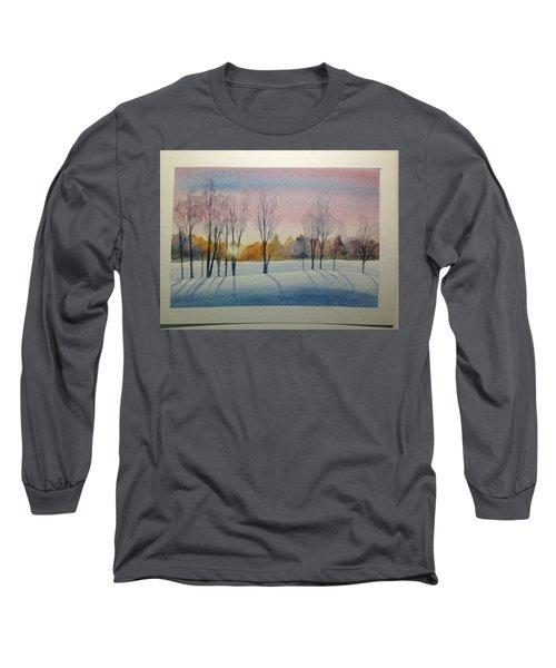 Christmas Card Long Sleeve T-Shirt