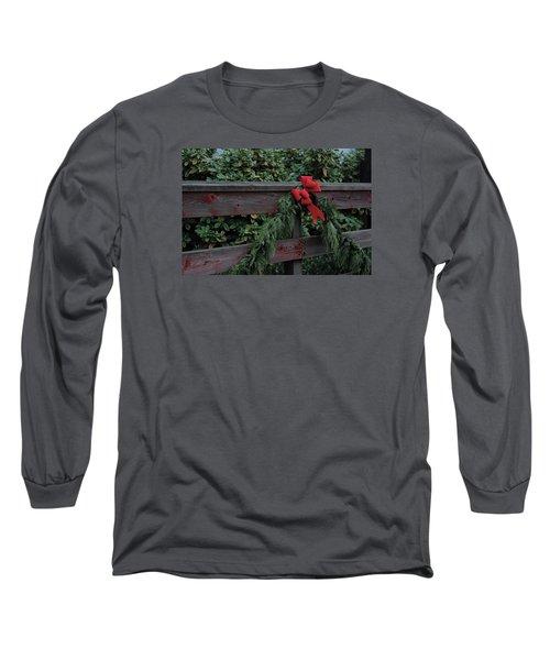 Christmas Colors Long Sleeve T-Shirt by John Rossman