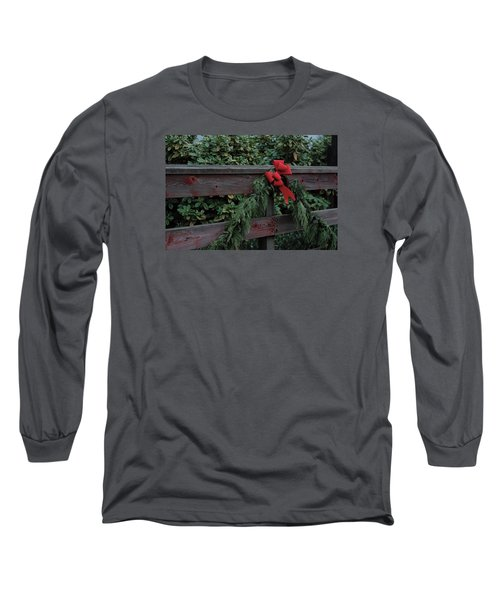 Christmas Colors Long Sleeve T-Shirt