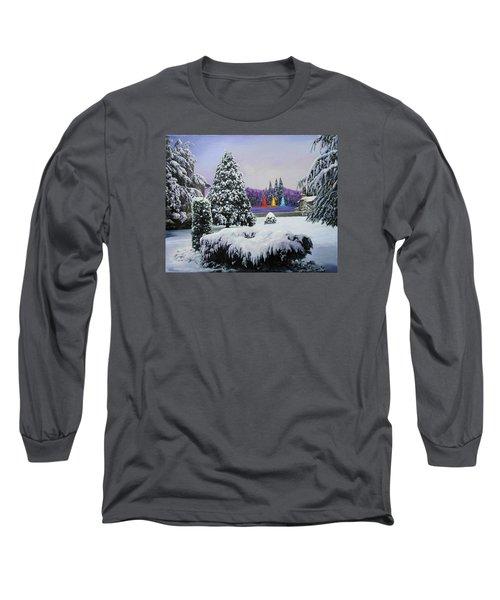 Silent Night Long Sleeve T-Shirt by Richard Barone