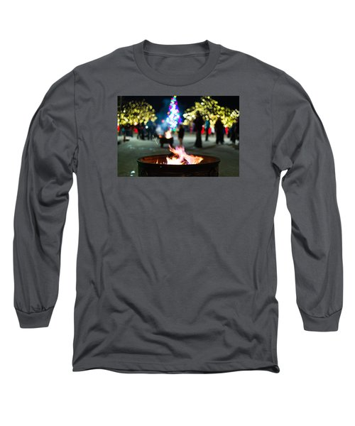Christmas Fire Pit Long Sleeve T-Shirt