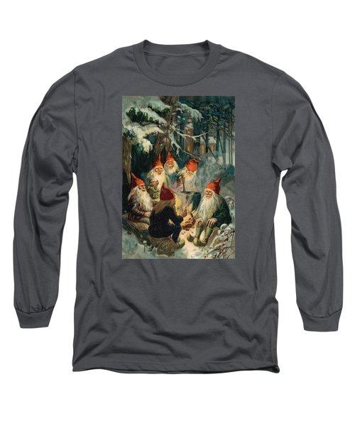 Christmas Gnomes Long Sleeve T-Shirt