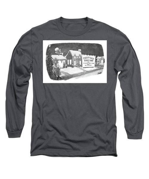 Christmas Greetings From The Applebys Long Sleeve T-Shirt