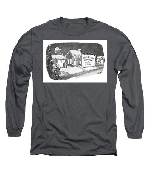 Christmas Greetings From The Applebys Long Sleeve T-Shirt