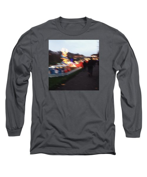 Christmas In Edinburgh Long Sleeve T-Shirt