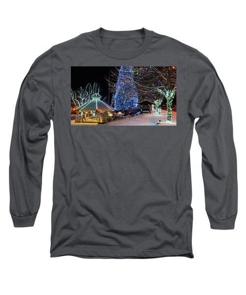 Long Sleeve T-Shirt featuring the photograph Christmas In Leavenworth by Dan Mihai