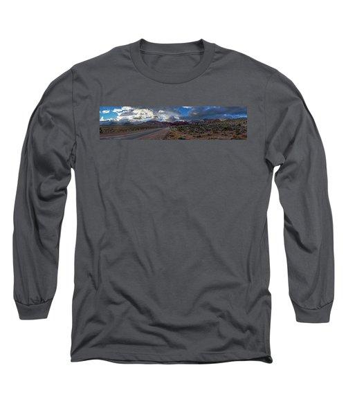Christmas In The Desert Long Sleeve T-Shirt