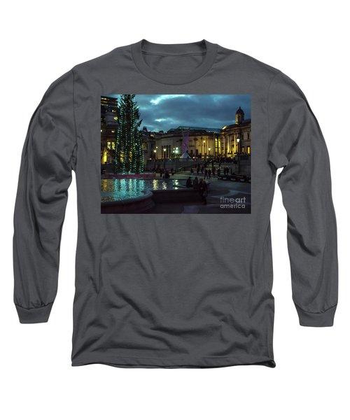 Christmas In Trafalgar Square, London 2 Long Sleeve T-Shirt