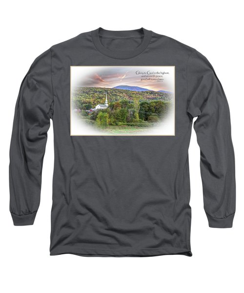 Christmas In Vermont Long Sleeve T-Shirt