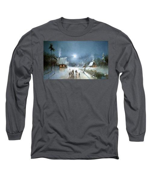 Christmas Night Long Sleeve T-Shirt