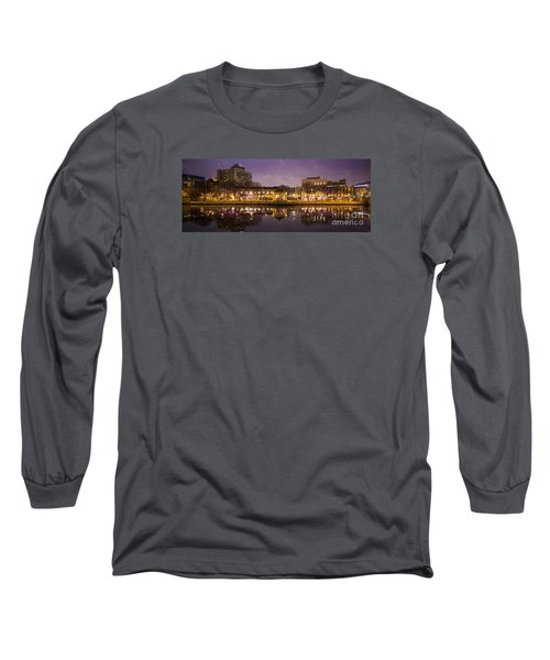 Long Sleeve T-Shirt featuring the photograph Christmas Reflections  by Ricky L Jones