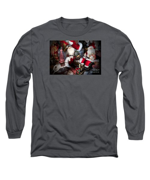 Christmas Rocking Horse II Long Sleeve T-Shirt