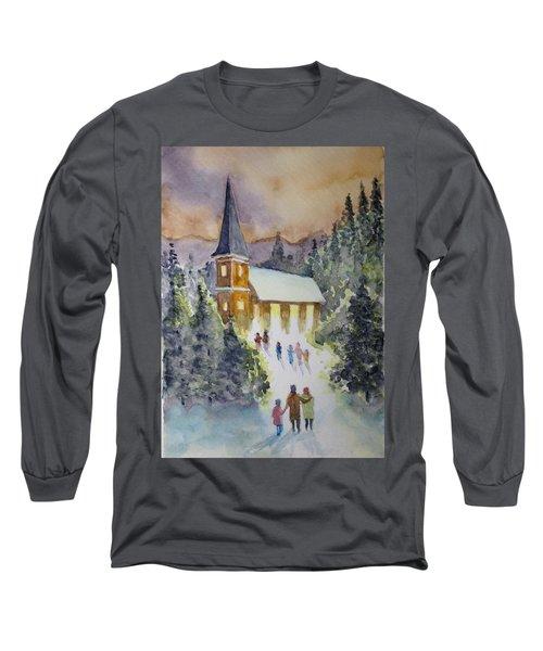Christmas Service Long Sleeve T-Shirt