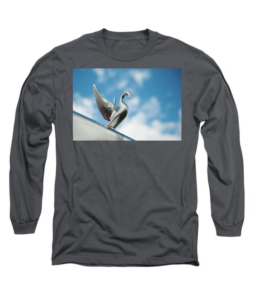 Chrome Swan Long Sleeve T-Shirt