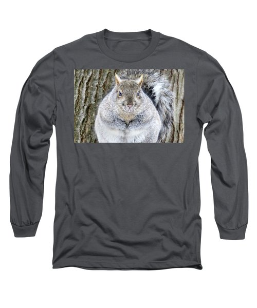 Chubby Squirrel Long Sleeve T-Shirt