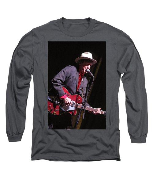 Chuck Mead Long Sleeve T-Shirt by Jim Mathis