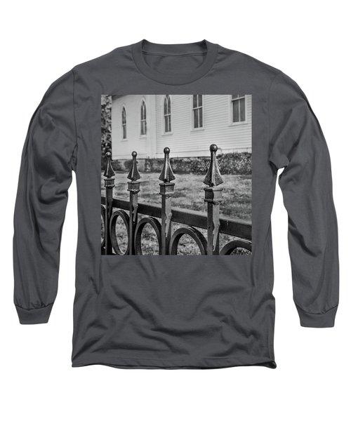 Church Fence Long Sleeve T-Shirt