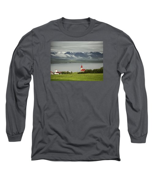 Church In Akureyri Long Sleeve T-Shirt