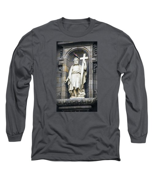 Church In Lima With Cross Long Sleeve T-Shirt