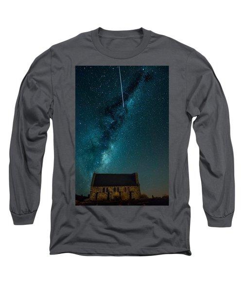 Church Of The Good Shepherd Long Sleeve T-Shirt by Martin Capek