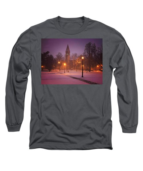 Church Sidewalk Long Sleeve T-Shirt