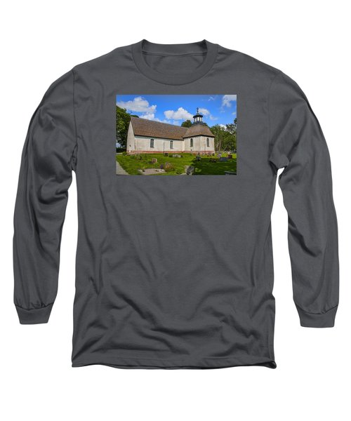 Long Sleeve T-Shirt featuring the photograph Church Teda Sw by Leif Sohlman