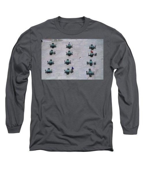 Cincinnati - Fountain Square Long Sleeve T-Shirt by Frank Romeo