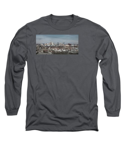 Cincinnati Panorama  Long Sleeve T-Shirt