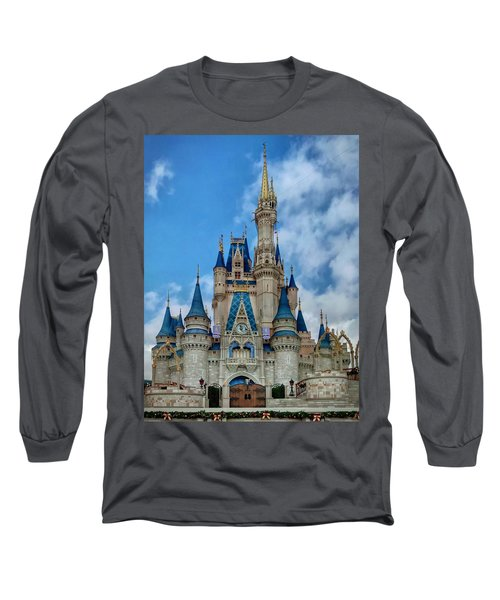 Cinderella Castle Long Sleeve T-Shirt