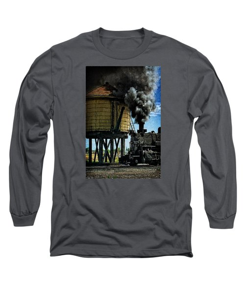 Long Sleeve T-Shirt featuring the photograph Cinders And Water by Ken Smith