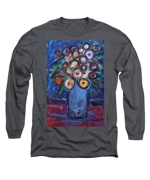 Circle Of Flowers Long Sleeve T-Shirt