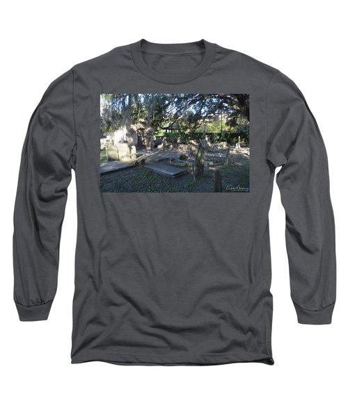 Circular Congregational Graveyard 1 Long Sleeve T-Shirt