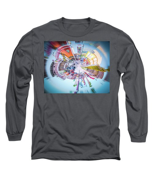 Circular Experience Long Sleeve T-Shirt by Mark Dunton