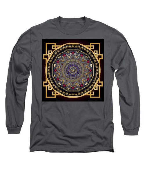 Circularium No 2651 Long Sleeve T-Shirt by Alan Bennington