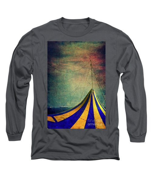 Circus With Distant Ships II Long Sleeve T-Shirt