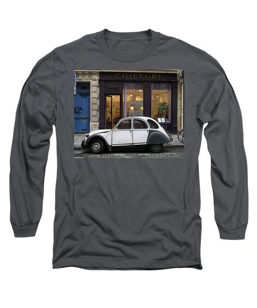 Long Sleeve T-Shirt featuring the photograph Citroen 2cv by Jim Mathis